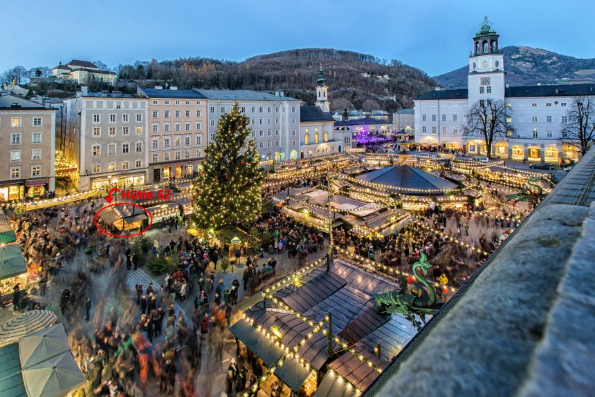 Residenzplatz Christkindlmarkt
